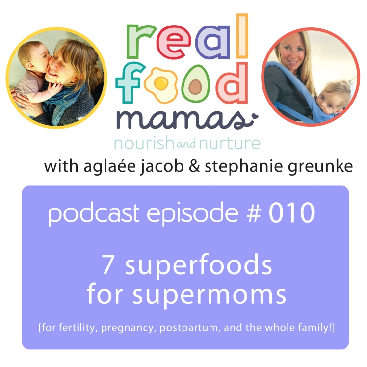 superfoods for supermoms