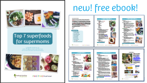 free ebook - superfoods for supermoms