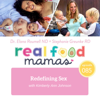 Real Food Mamas Podcast Template
